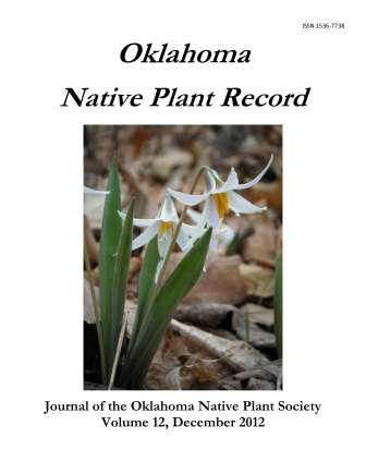 Cover photo: Erythronium sp. (Dogtooth lily) by Lynn Michael, past president of ONPS