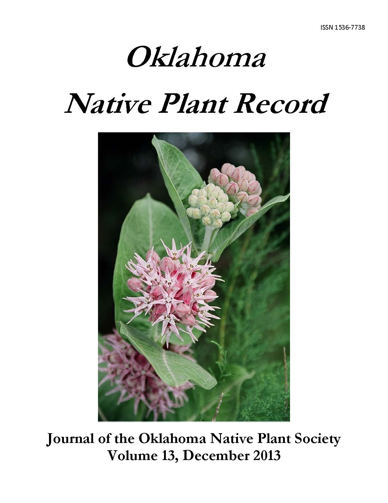 Cover photo: Aesclepias speciosa by Leslie Cole, ONPS photo contest winner