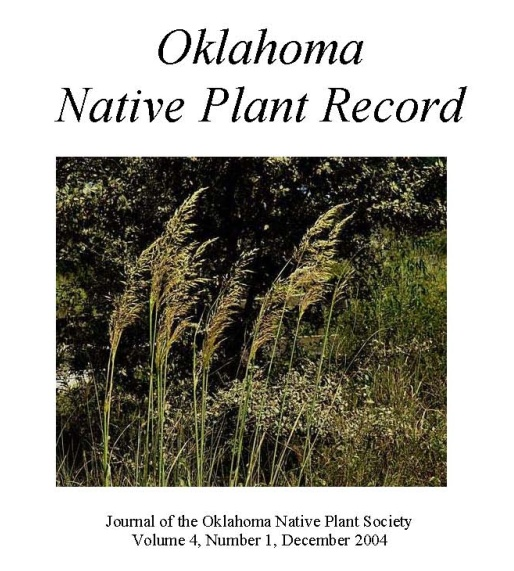 Cover photo: Sorghastrum nutans, Indian grass, our state grass by Charles Lewallen
