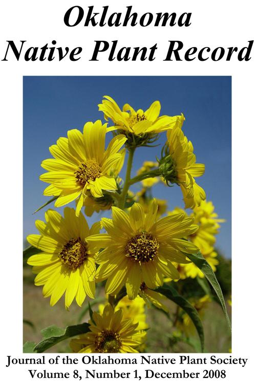 Cover photo: Courtesy of Patricia Folley Helianthus maximilianii Schrad. Maximilian's Sunflower