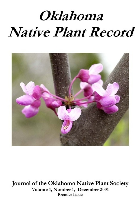 Cover: Cercis canadensis (Redbud) Photo courtesy of Charles Lewallen.