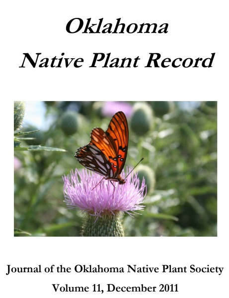 """Cover photo by Carolyn Lilly """"Fritillary and Thistle"""", 1st place Photo Contest Winner, Special Category: Flora and Fauna, 2011."""